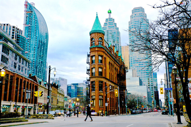 Flatiron Toronto Gooderham